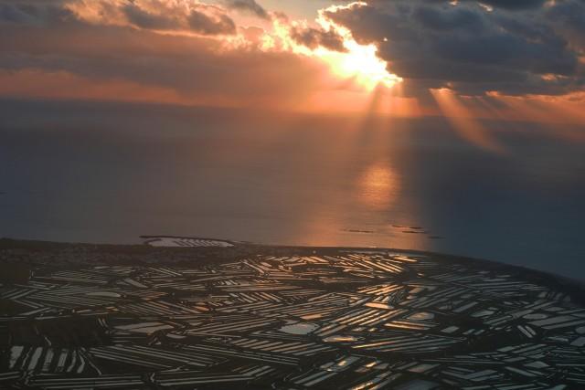 Coucher de soleil sur l'ile de Noirmoutier