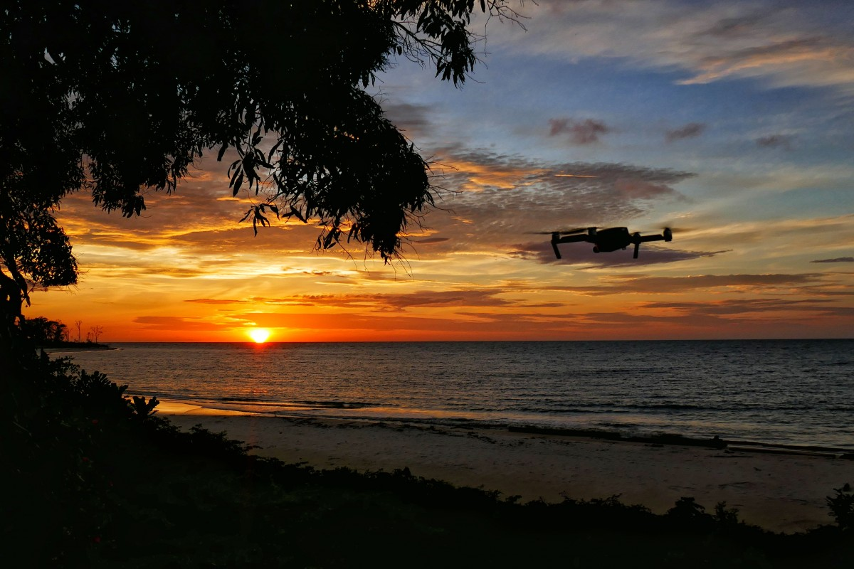 Sunset Nyonié Gabon