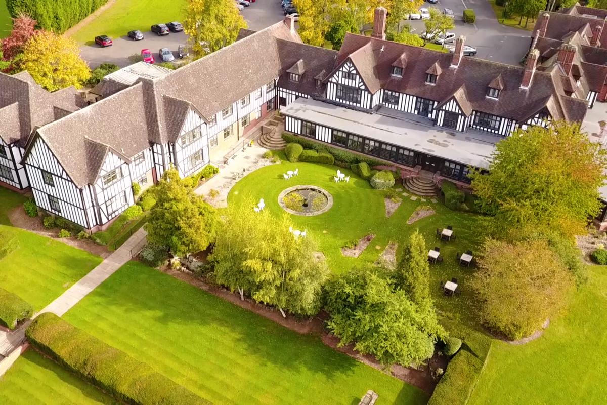 Visually Stunning, Hogarth's Stone Manor Hotel, Drone Footage