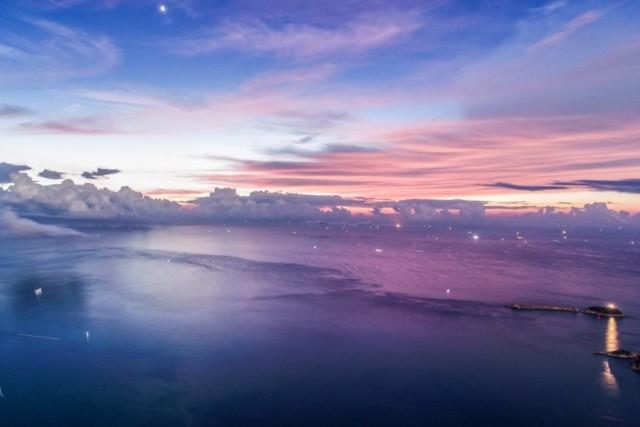 Sunrise by Xiaomi mi drone 4K