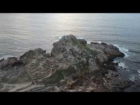 Baroña settlement in Galicia, Spain