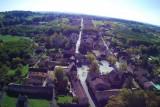 Bastide de Molières vue du ciel (Drone Hubsan H501S)