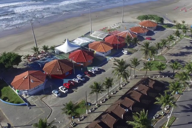 Biggest fishing platform in South America