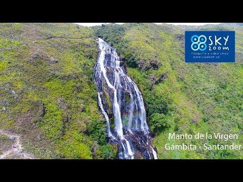 Cascada El Manto de la Virgen – Gámbita – Santander