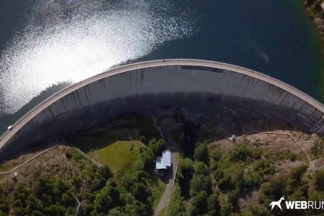 Lac et barrage de Saint-Guérin