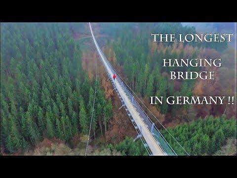 LONGEST/HIGHEST HANGING BRIDGE GERMANY