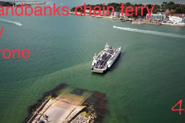 Sandbanks Chain Ferry 4K