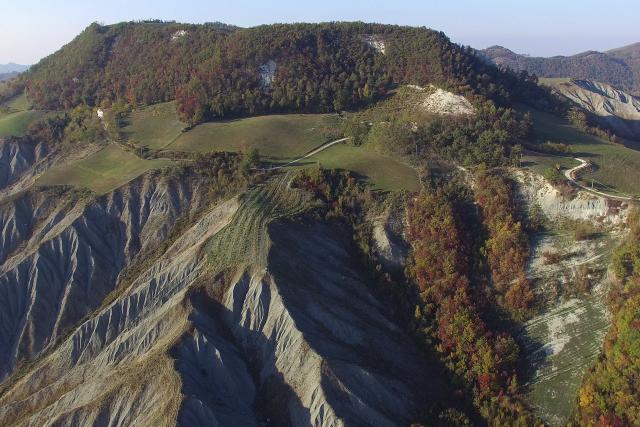 L'autunno dei calanchi di Monte S. Pietro – Bologna