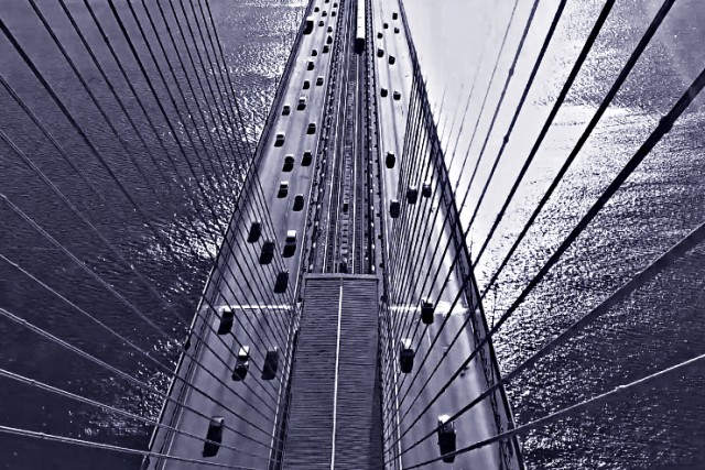 Bridge in Kyiv