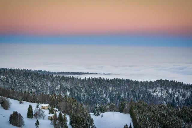 Plateau de retord, Rhône Alpes Auvergne, Ain France