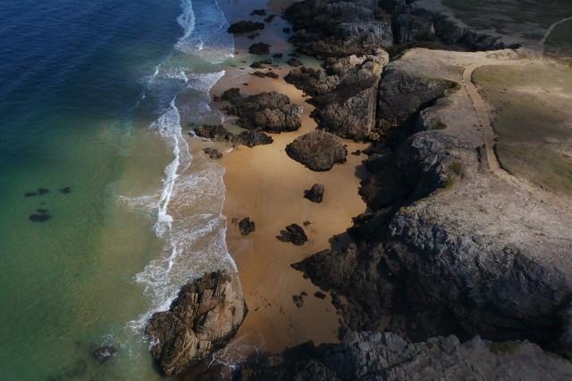 Cote sauvage de la presqu'île de Quiberon