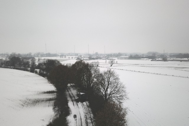 Winter in Zulte