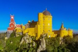 """Palácio da Pena"" palace at Sintra Mountain, Portugal…"