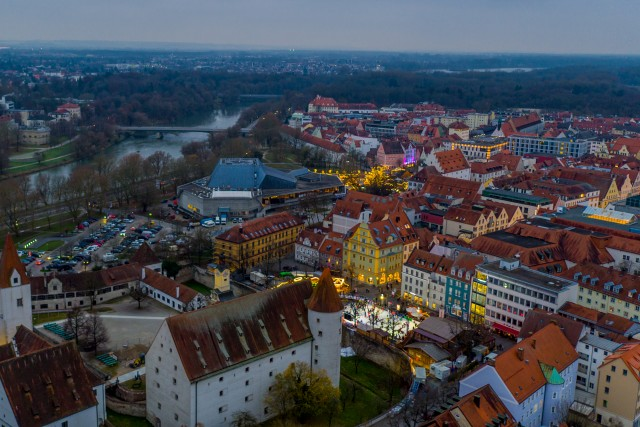 Ingolstadt/Bavaria Donau – Germany Night