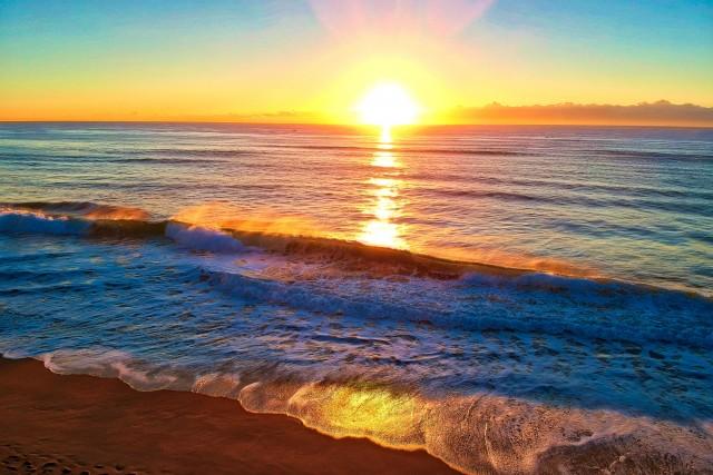 Sunrise on Toti Beach
