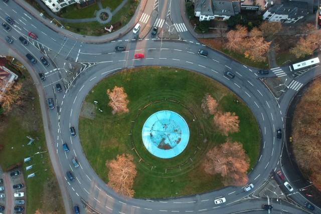 Roundabout in Königstein