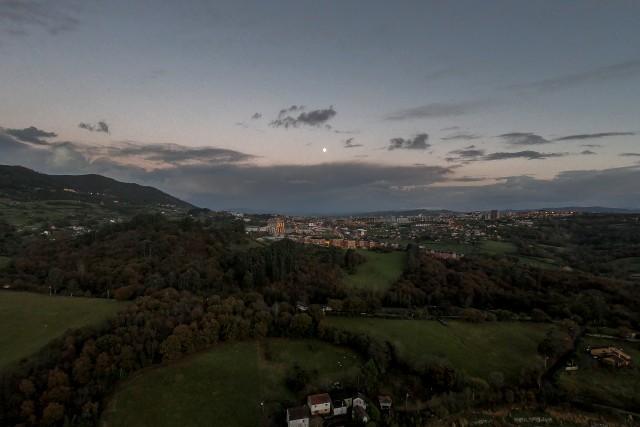 Oviedo desde la lejania