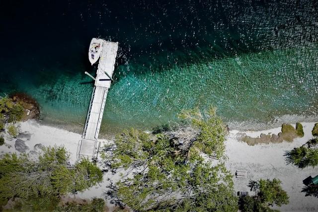 Ruby Island landing
