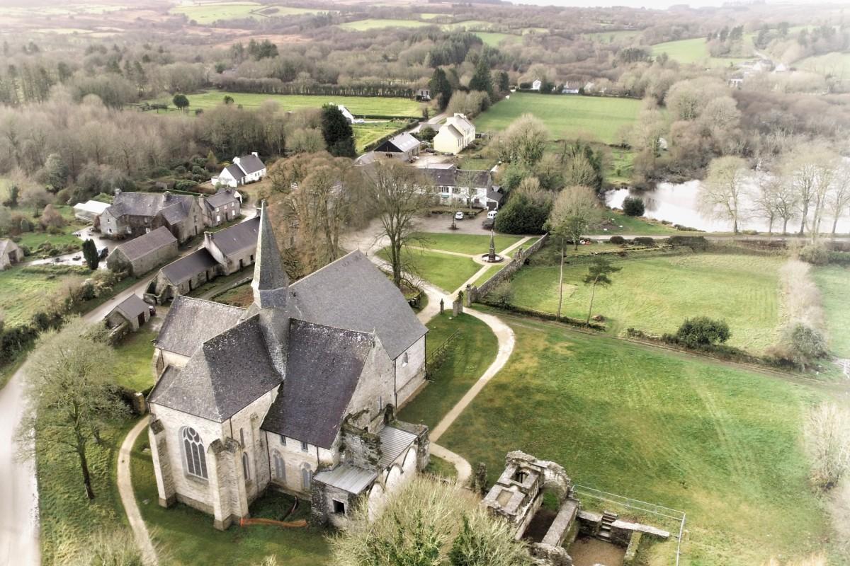 Relecq Abbey / Abbaye du Relec