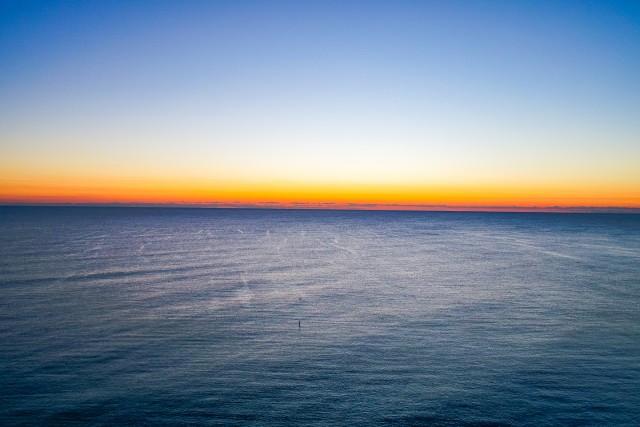 Dawn off Fort Lauderdale, FL
