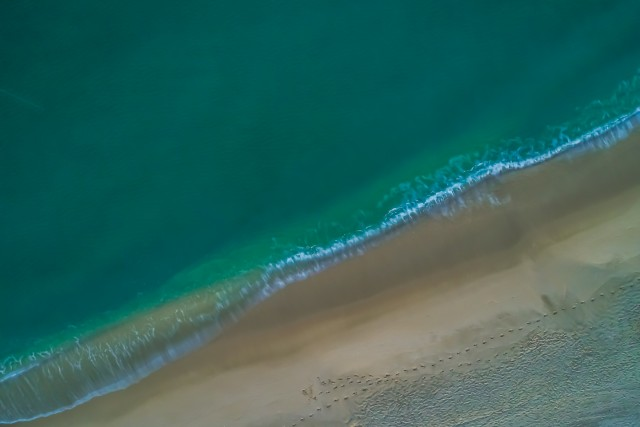 Fort Lauderdale Beach from above, Fort Lauderdale FL