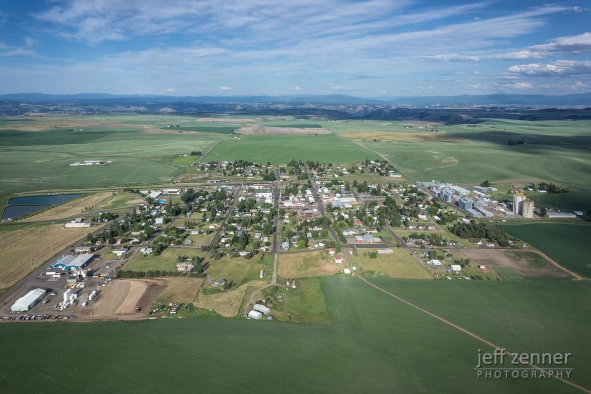 Small Town on the Prairie!