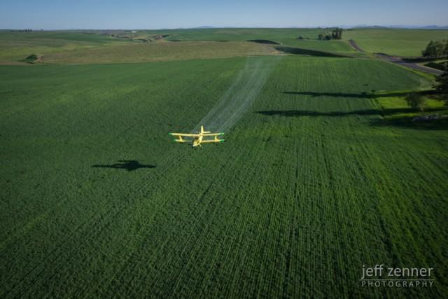 Flying the Fields!