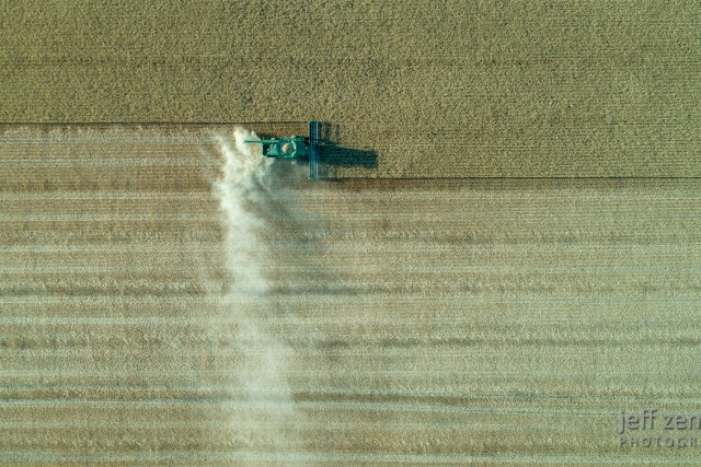 Wheat Harvest, One Pass at a Time!