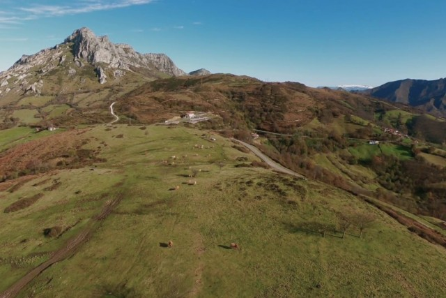 Angliru mountain video