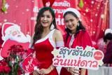 CHRISTMAS STAR PARADE 2016 at Tharae, Sakon Nakhon, Thailand.