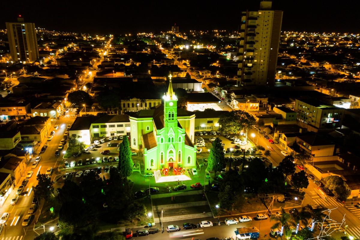 RamDrone – Igreja Matriz de Lençóis Paulista / Church