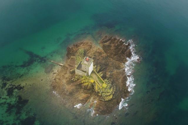 Ile Noire in Brittany, Morlaix