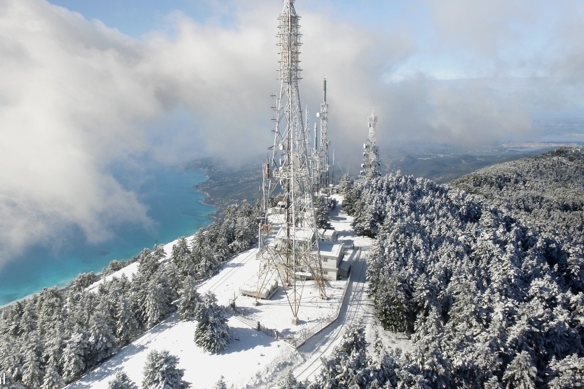 Ainos mountain – Antennas Center