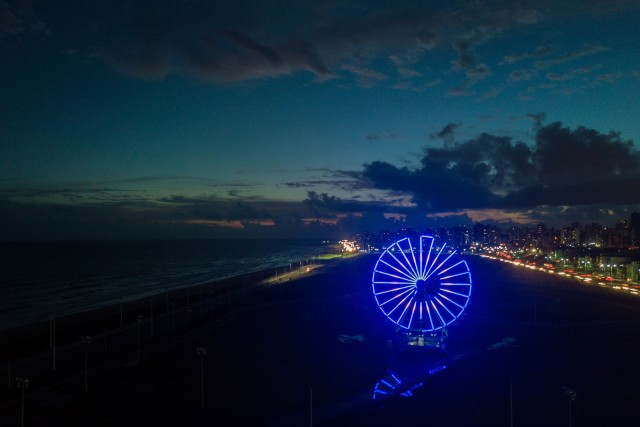 Roda gigante do ano novo