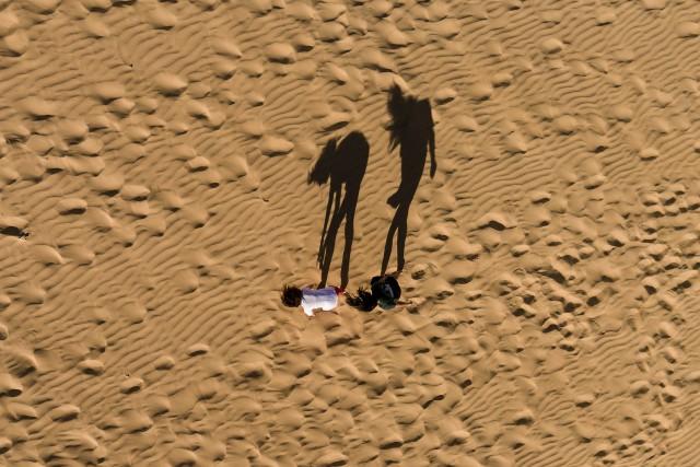 Climb a dune