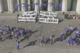 Intervención aérea Día de la No Violencia contra la mujer
