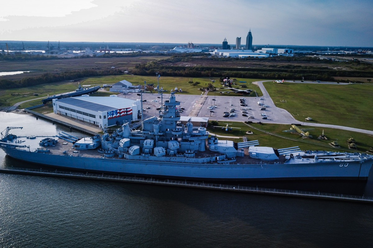 USS Alabama World War II Battleship