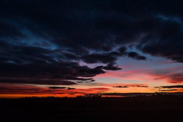 Provençal sunset