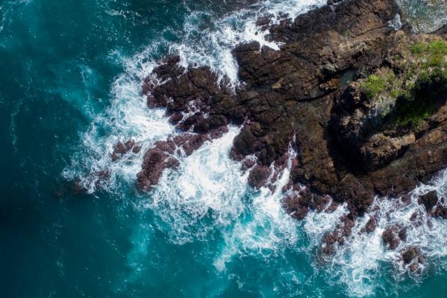 Baler Aurora rock formation