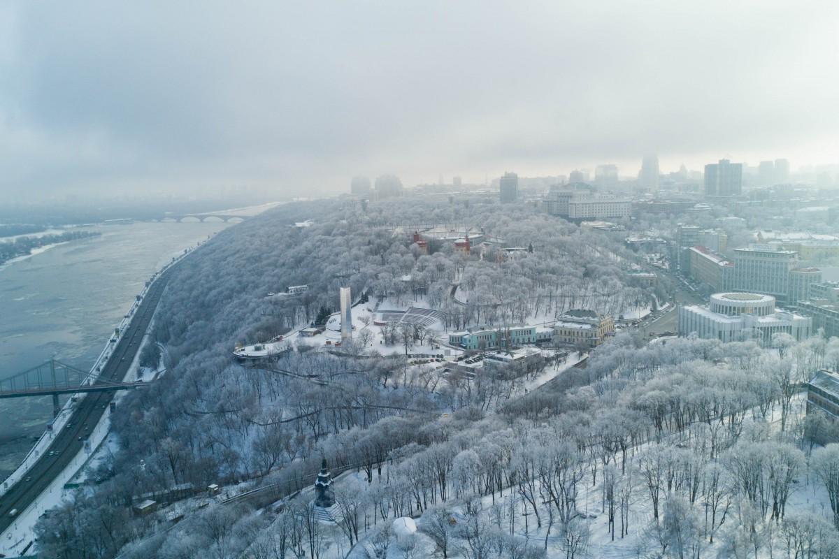 Winter in Kyiv
