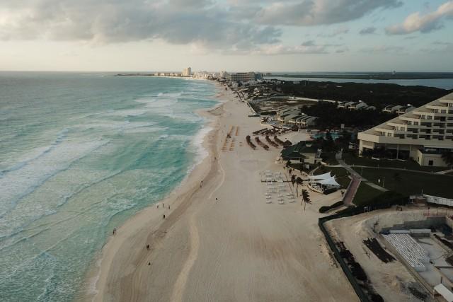 Cancun – morning flight