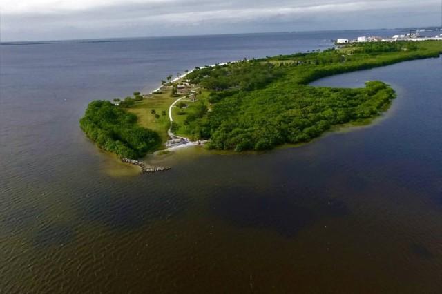 Picnic Island, Tampa Florida, USA