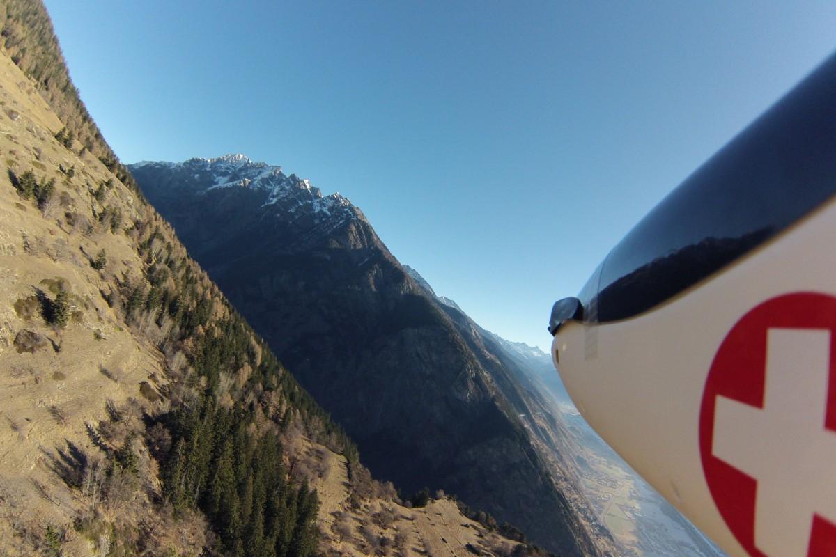 Slope flying