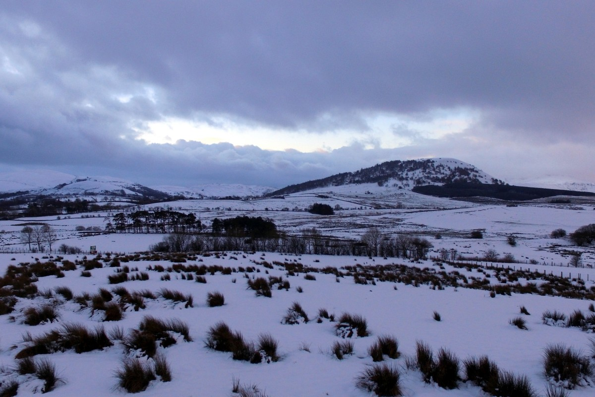 Great mell and Little mell fell.