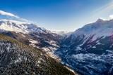 Frontière Franco/italienne des Alpes depuis notre drone !