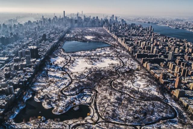 Central Park Snowfall