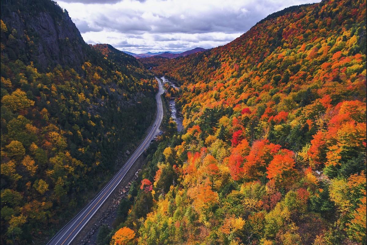 Adirondack fall folaige