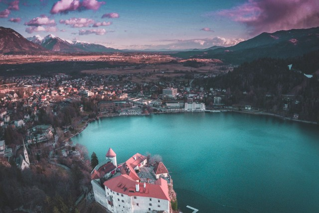 bled in purple hour