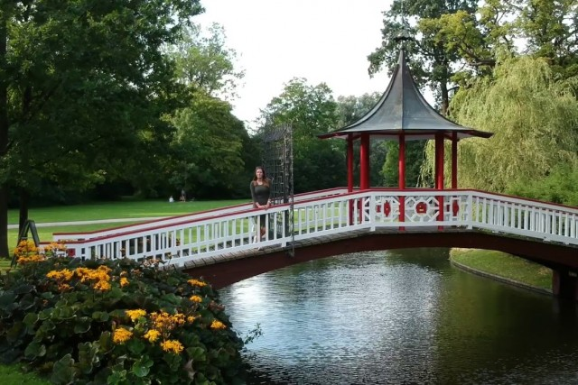 Frederiksberg gardens in Copenhagen by DJI Spark