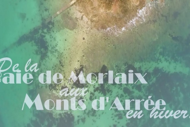 From the bay of Morlaix to the Arrée hills by drone, Brittany